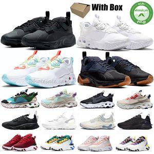 Nike React Vision Reagieren 55 Element 87 Undercover Männer Frauen Schuhe laufen reagieren Vision-Tour-Gelb Hell Blau Orange Pee billige Turnschuhe Schuhe Herren