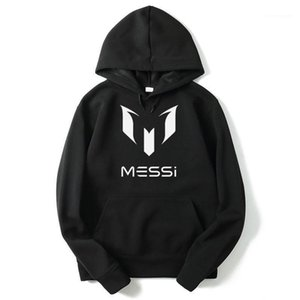 Hooded Men Casual Sports Sweatshirts Clothes Hommes Barcelona Mess Letters Printed Hoodies Brazil