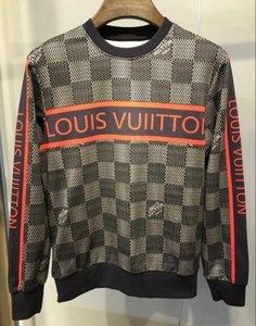 20ss autunno inverno nuovo stile di Marsiglia a strisce lettere stampate in cotone girocollo maglione uomini casual di alta qualità del progettista con cappuccio Pullover Sw