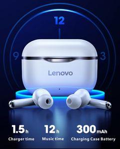 NUEVA original de Lenovo LP1 TWS auricular inalámbrico Bluetooth 5.0 estéreo dual de reducción de ruido bajo control táctil espera largo 300mAh
