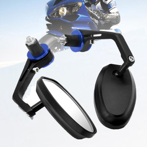 """Motorcycle Rear View Mirror 7 8"""" Handle Bar End Side Rearview Aluminum For 450EXC-R 525SX-R 525EXC-R 530EXC-R SIX DAYS 2020"""