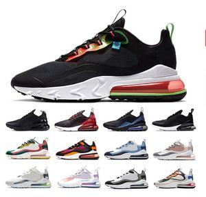 Nike Air Max 270 React Airmax Safari Men Running Shoes Parachute 270s Camo Oracle Aqua Bauhaus Metallic God Men Women Outdoor Trainers Sports Sneakers