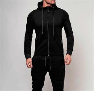 Sweatshirts With Zipper Mens Designer Hoodies Solid Color Cardigan Mens Sportswear Sports Fitness Long Sleeve Hooded Loose Mens