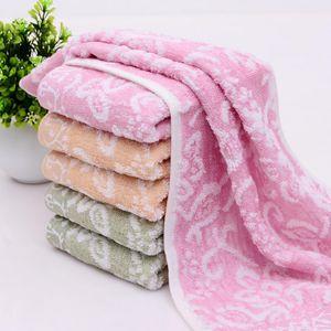 Jacquard Thicker santé environnementale respirante Serviette impression et la teinture Visage / main / serviettes cheveux