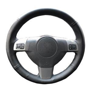 Car Steering Wheel Braid For Opel Astra (H) 2004-2009 Zaflra (B) Signum 2005 Vectra (C) custom Steering Cover car accessories