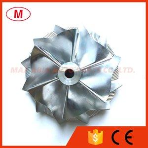 GT15 25 702 549 0008HF V1 50.20 / 65.00mm 6 + 6 palas de rueda delantero Turbo del alto rendimiento de aluminio 2618 / Fresado / Billet Compresor
