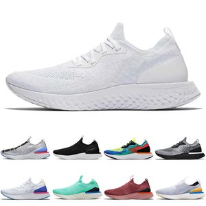 nike epic react fly knit flyknit TODO O BRANCO 2020 NOVO EPIC Reagir Running Shoes Burgundy Fly Running Shoes Moda Trainers Royal Green Pewter Homens Mulheres EPIC Trainers Knit