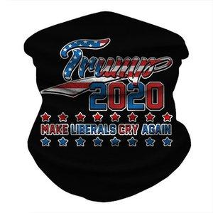 Magic Keep America Bandana Mask Neck For Headwear Biden Headbands Face Cycling Scarf Great 2020 Shield Seamless Party Trump Mask yxlfe