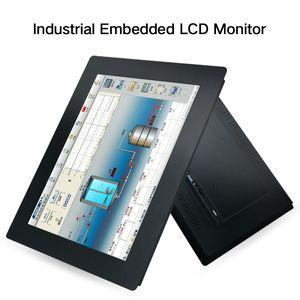 15 بوصة TFT LCD CCTV الصناعية شاشة الكمبيوتر مع BNC