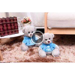 Kinder Bär Plüsch-Puppen Spielzeug-Baby-Stuffed Bear Spielzeug mit Kleidung Mädchen Jungen Kreative Weihnachtsgeschenke-Geburtstags-Party-Babyparty Hochzeit Spielzeug Dekor
