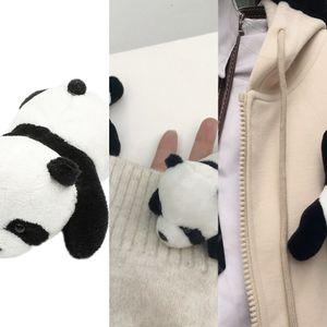XH0v0 cs Broschen Panda Wikinger Tasche Amulett Broschen Schweden Tracht Skandinavier Viking brosch mit Greif Tier Schmuck Talisman