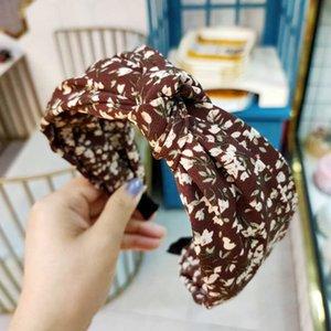 Bands Bandes à cheveux Fleurs Knot Adulte Hoop Côté Croix Croix Fashion Elastic H: Hyde Girls Femmes pour bandeau Headwear Turban VRBPI