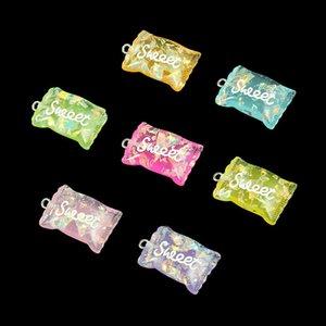 Креативные аксессуары ювелирные цветные имитации смолы конфеты подвеска брелок детские ювелирные изделия ручной работы аксессуары DIY Craft игрушки DHF1756