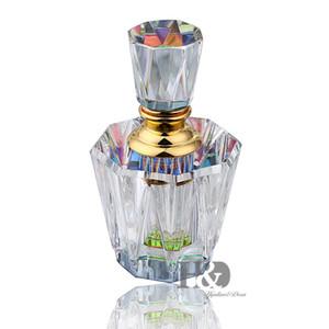 HD 이집트 크리스탈 유리 향수 병은 홈 인테리어 레이디의 선물에 대한 리필 병 비우기 (3ML)