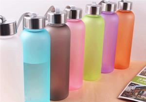NEU! 20 Unzen-Süßigkeit-Farben-mattierter Trinkflaschen Blatt-Proof PC Cups Coffee Tumblers Außen Trinkflaschen A11