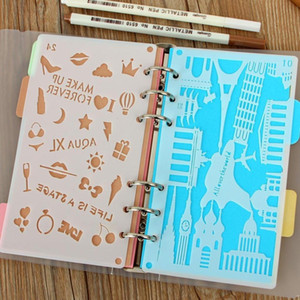 Loose Notebook Bullet Diary Journal Dies Plastic Cutting Scrapbook A6 Stencil Planner Diy Template Craft For Drawing Diy Rxstr pp2006