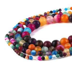 """Scrub Round Picture Beads Natural Stone Beads 4mm Strand 15"""" Diy For Jewelry Making Free shipping BTB904-BTB944"""
