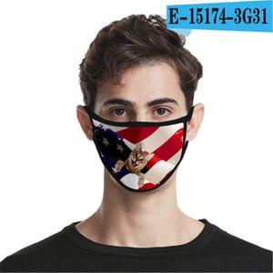 Boca lavável Mask envio reutilizável Cotton projeto Er face Designer face linho Máscara # 4yzc