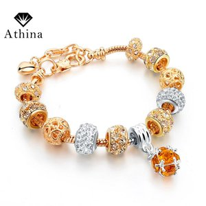 2020 Gold Chain Bracelets For Women Round Charm Bracelets & Bangles Luxury DIY Jewelry Pulseira Masculina SBR160011