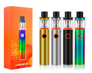 Vape Pen 22 Kit Starter Kit Con 1650mAh batteria Top Fill Vape Penna 22 Serbatoio Intelligent Battery PK Novo Nord TFV12 Stick Kit DHL