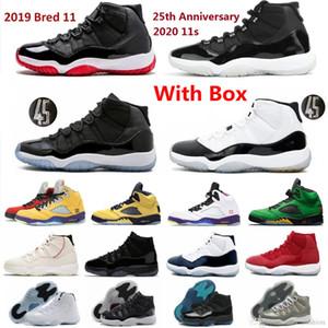 2021 En Yeni 11s Basketbol Ayakkabı ile Kutusu 11 Erkekler Ayakkabı Jubilee Kap ve Kıyafeti Serin Gri 72-10 Pantone Legend Mavi Düşük Win gibi 96 Concords 13s