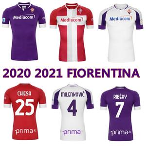 2020 2021 Fiorentina Futbol Forması 20 21 Florence Ribery CuLtrone Pulgar Pezzella Vlahovic Milenkovic Chiesa Futbol Gömlek