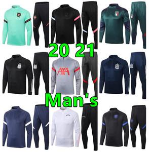 2020 21 chandal اسبانيا بلجيكا هولندا رياضية قمصان سترة رجل كرة القدم رياضية تدريب كرة القدم بدلة الركض
