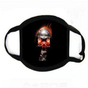 Fa Poeira Cotton Falta Mask Anti Wit Vae Den Mout Printing máscaras de filtro PM2.5 Protective Wasale Mascerine Segurança # 166