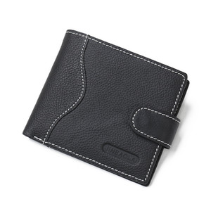 Code 21 Fashion Genuine Leather Men Wallets Mens Wallet Short Man Purse With Card Holders Gift box High Quality