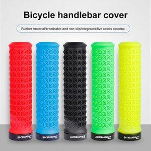 Fahrrad-Fahrrad-TPR Grip Mountain Bike Lenkergriffe Anti-Rutsch-Bar End Bequemes Handgefühl Multi Farboptionen Radfahren Handauflage