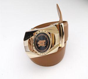 Designer Gürtel Marke Drago automatische Schnalle Ledergürtel Männer und Frauen Mode Luxus Warte Gürtel gute Qualität