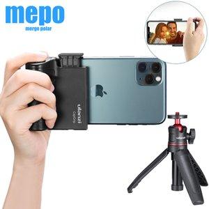 Smartphone clip sans fil Bluetooth Handgrip selfie Poignée Grip Téléphone Stablizer Support à déclencheur 1/4 Vis