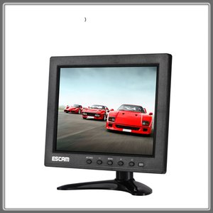Escam T08 8 inch TFT LCD 1024x768 Monitor with VGA HDMI AV BNC USB Port for PC CCTV Security IP Camera