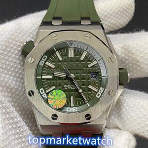 13 Farbe Luxusuhr 42mm 15710 Royal Oak Offshore-Automatik-Uhr Gummiband watches 2813 Bewegung Männer Armbanduhr Uhren