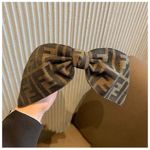 Fashion Head Hoop Top Knot Hairband Turban Stripe élastique Bezel cheveux Bandeau pour les femmes Fille Impression Coiffe Accessoires cheveux p61