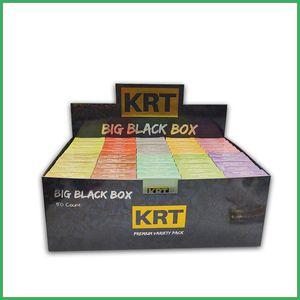 Krt empty carts vape cartridge 0.8 1.0ml ceramic coil atomizer smart buds packaging Pyrex Glass Tank