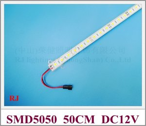 LED light bar SMD 5050 LED rigid strip bar light SMD5050 DC12V 7W 50cm 30 led