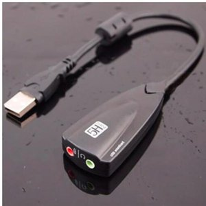 5hv2 7 .1 External Usb Sound Card 5hv2 Audio Adapter Usb To 3d Ch Virtual Channel Sound For Laptop Pc Plug And Play