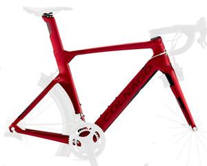 Colnago Konsept Disk Frameset NJRD Kırmızı Mat Çerçeve Karbon Frameset Yol Bisikleti Çerçeve Karbon Bisiklet Frameset 2021
