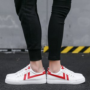 Fashion awesome Beautiful Men Women Casual Shoes Unisex Fashion Canvas Shoes Red White Black Walking Outdoor Flat Shoes size 36-
