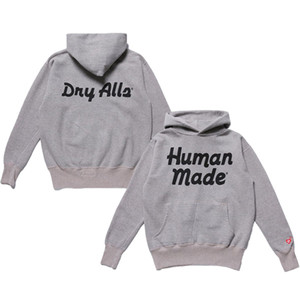 Grey Printed Women Men Hoodies Sweatshirt Men Cotton Hoodie Pullover