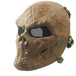 Lieferungen Zombie Outdoor Maskfans Gesicht FPXck Krieger M06 Ausrüstung CS Full Skull Mask Real-Life Field EQ QLVNV