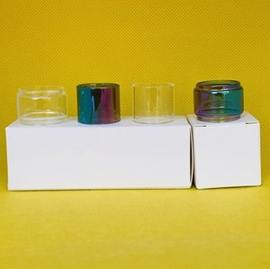 SMOK Mag Grip Kit Normal Bulb Tube Clear Rainbow Glass Tube Convex Extended Replacement Bubble 1pc box 3pcs box 10pcs box