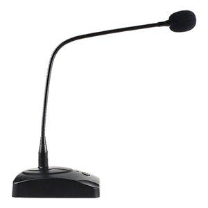 Condensador de micrófono con cable 360 ° ajustar libremente Speech micrófono para el ordenador portátil PC School Speech Reunión