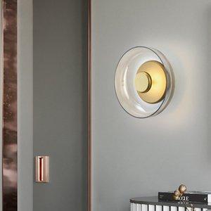 Heißer Verkauf Nordic Postmodern Wandleuchte Einfache Glas Kreative Pilz Schlafzimmer Design Modell Zimmer Schlafzimmer Nachtbeleuchtung