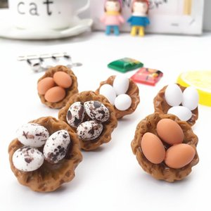 Funny Exaggerated Mini Vivid Egg Drop Earrings Female Creative Handmade Earring Girl Unique Jewelry Personality Accessories