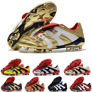 2020 yırtıcı Hızlandırıcı Elektrik FG Zidane ZZ Beckham Erkek futbol ayakkabıları kramponlarını ucuz orijinal krampon Boyut 39-45 Oldu