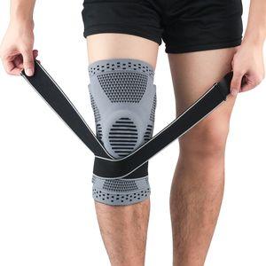 1 Knee Pad compressione Sport Knee Pad Supporto Protector pesi Pallacanestro Pads esecuzione