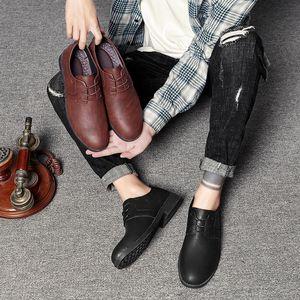 SeedStar Mode Glissement Hommes Robe Chaussures Hommes Oxfords Fashion Robe d'affaires Chaussures 2020 New Classic cuir Suits Vêtements pour hommes