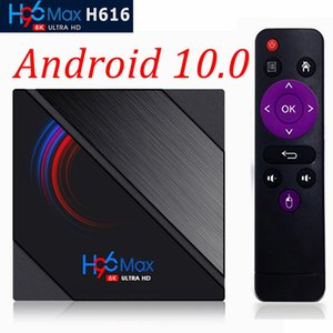 H96 Max H616 Android 10.0 Smart TV Box H616 Quad Core 4G 32G 64G 2.4G&5.0G Dual WIFI BT4.0 6K HD Set-Top Box PK X96 Mate